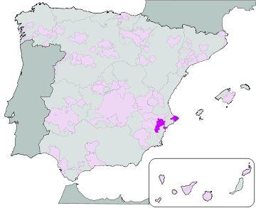 Alicante wijnstreek