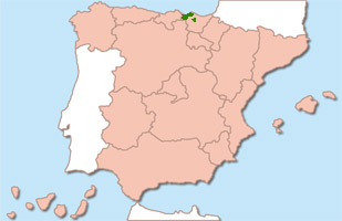 Chacoli de Vizcaya wijnstreek